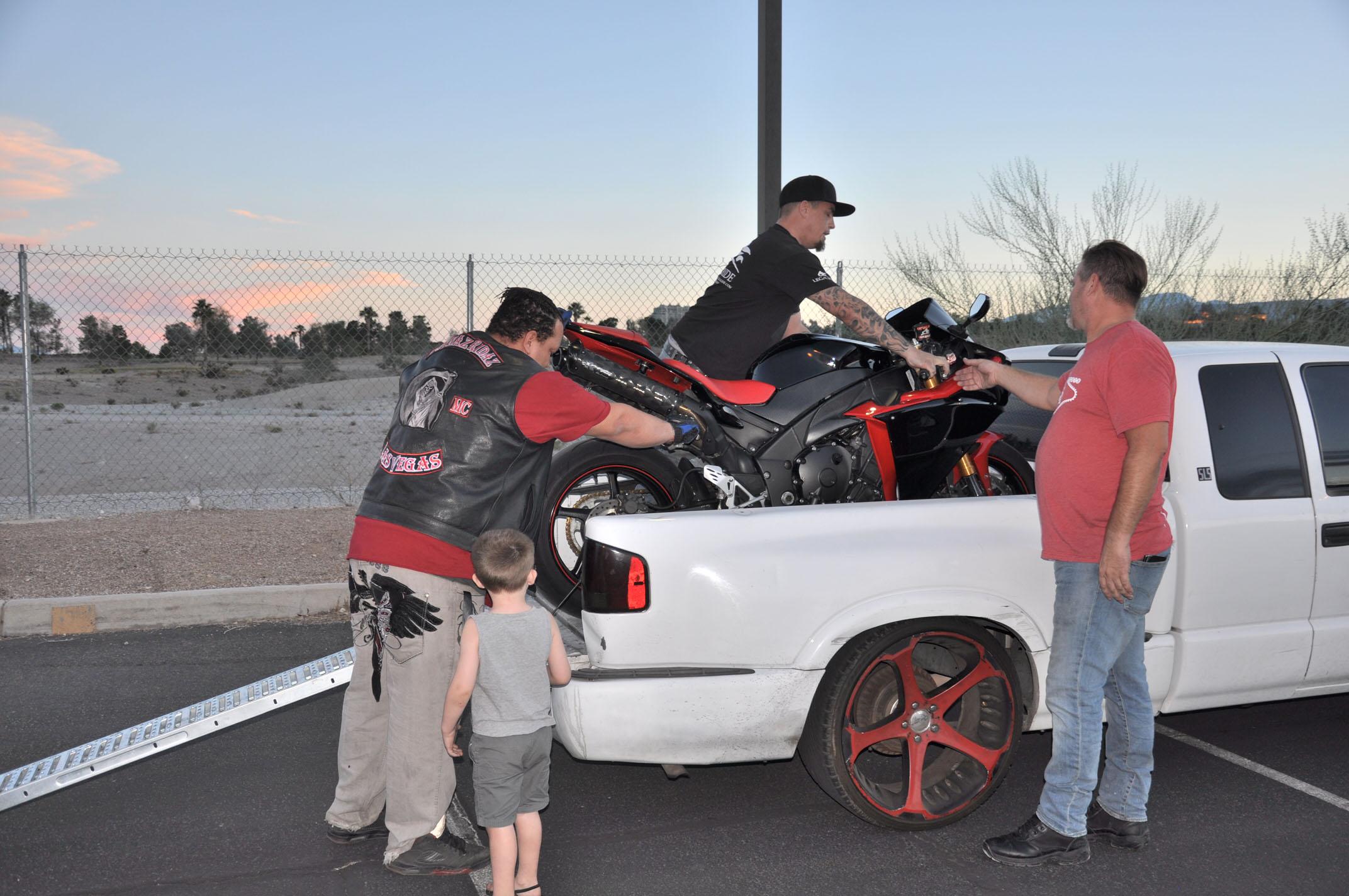 Riders Helping Riders.